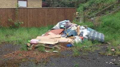 Fly-tipping report