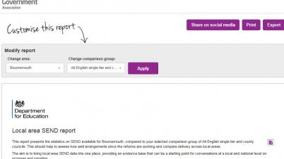 New Special Educational Needs and Disability (SEND) data available in LG Inform